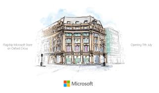 Microsoft Store London sketch