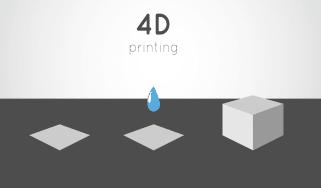 4D printing futuristic image