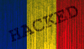 Picture depicting romania being involved in a cyber crime