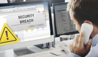 Man reports security breach