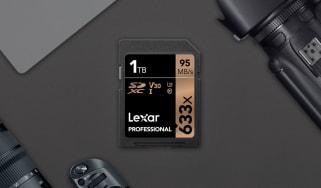 Lexar 1TB 633x SDXC UHS-1 memory card