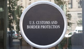 Logo for the US Customs and Border Protection federal agency