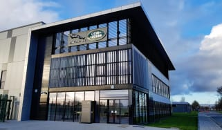 Jaguar Land Rover building in Shannon, Republic of Ireland