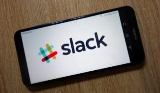 Slack on phone