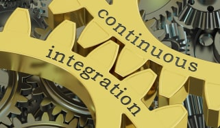 Cogs with Continuous Integration written on them