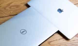 The Dell XPS 13 and Apple MacBook Pro 13in (2018) side-by-side