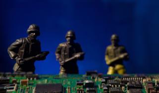 Cyber war cyber warfare cyber terrorism concept