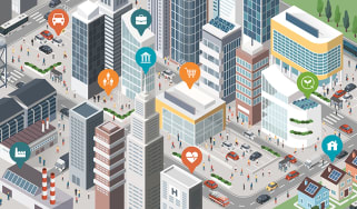 Smart city concept - smart cities