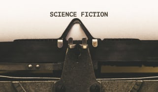 Science fiction on a typewriter