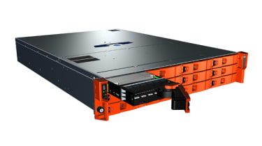 The LaCie 12big Rack Network and a removable disk caddy