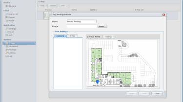 The new Surveillance Station 5 has improved IP camera support and can use maps to show where your cameras are located.