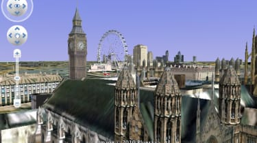 Big Ben in Google Earth