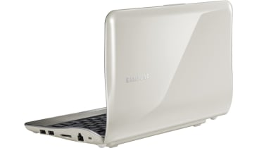 The rear of the Samsung NF210