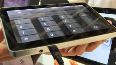 The ViewSonic ViewPad 7 can be used as a phone