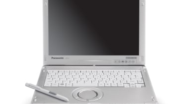 The Panasonic ToughBook CF-C1 and its stylus