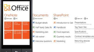 The Office Hub on Windows Phone 7