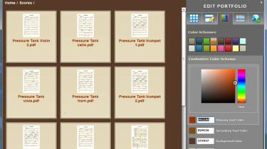 Designing a Portfolio in Nuance PDF Converter Professional 7