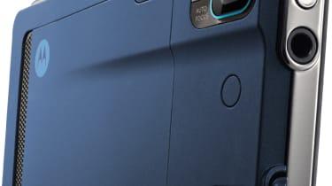 The back of the Motorola Milestone XT720