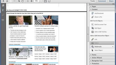 The new Tools pane in Adobe Acrobat Pro X