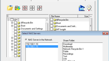 QNap's NetBak Replicator provides basic but functional workstation backup facilities.