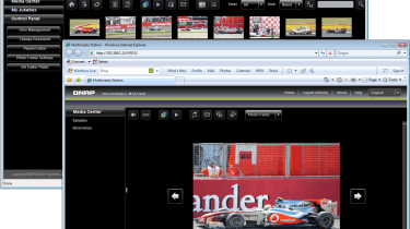 The improved Multimedia Station provides web galleries for your music, photos and videos.