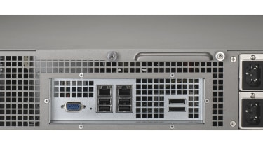The back of the QNap TS-859U-RP Turbo NAS
