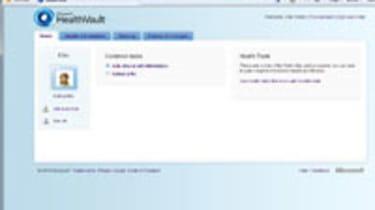 HealthVault: home page