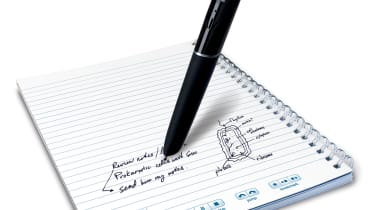 The LiveScribe Echo Smartpen and its special paper