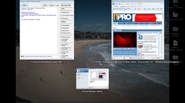 Unity mode and Expose in VMWare Fusion 3