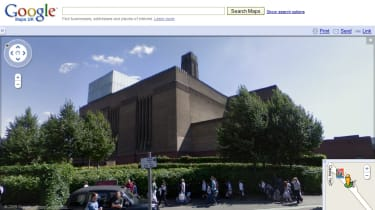 Tate Modern via Street View