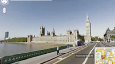 Google Street View in London