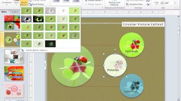 Microsoft Office 2010 PowerPoint Photo Editing