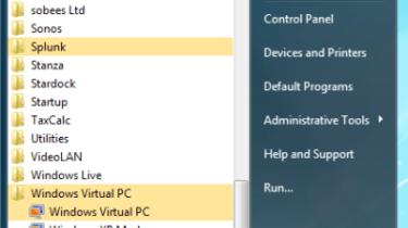 Step 8: In the Windows 7 Start Menu