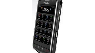 BlackBerry Storm - Side