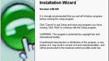 Step 10: Software installation