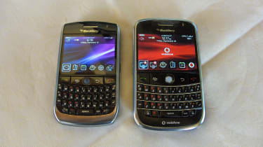 BlackBerry Javelin - Comparison with BlackBerry Bold