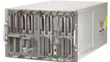 Step 4: Fujitsu Siemens PRIMERGY BX600 S2