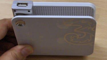 D100 - USB socket close-up