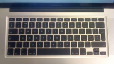 MacBook Pro - keyboard