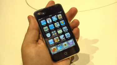 iPod Touch: Home screen