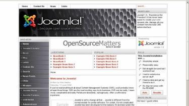 Step 7: Joomla! 1.0.8