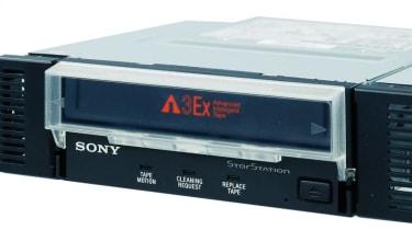 Step 25: Sony StorStation AIT390s