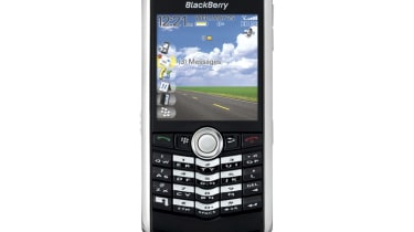 BlackBerry Pearl front