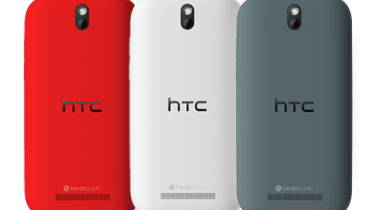 HTC One SV - Back