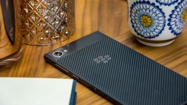 BlackBerry Motion smartphone - BlackBerry logo