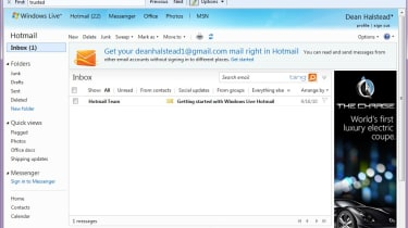Microsoft Windows Live Hotmail