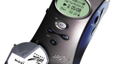 Iomega HipZip and PocketZip disk
