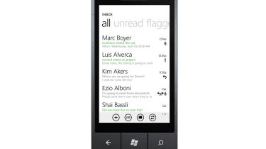 Windows Phone 7 inbox
