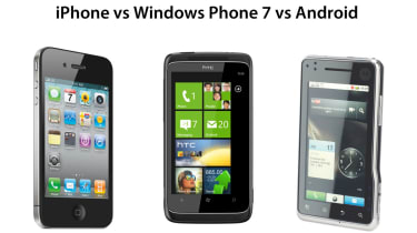 iOS vs Windows Phone 7 vs Android