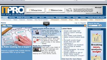 Apple iPad web